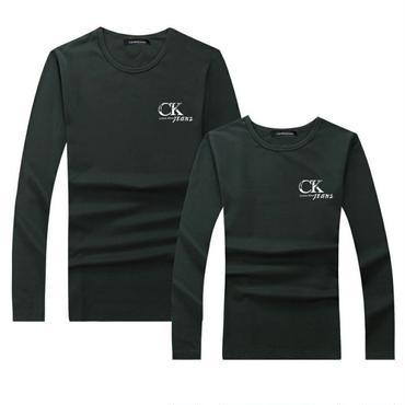 グリーン 秋新作 冬 人気Calvin Klein長袖シャツ 男女兼用 カルバンクライント長袖Tシャツ 高品質 可愛い