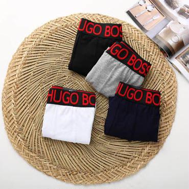 ヒューゴ・ボス純色下着 メンズ用 アンダーウェア メンズファッション ボクサーブリーフ 人気 多色