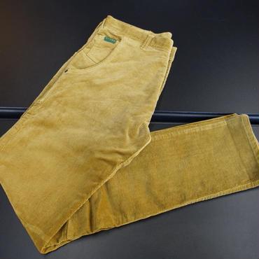 AFAME Biker Corduroy Pants Mustard