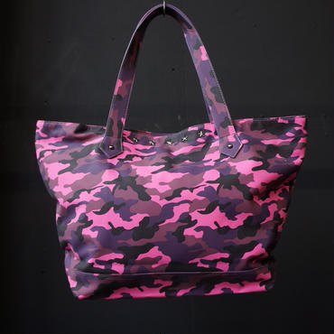 DOMESPAIR Camouflage Tote Bag Pink