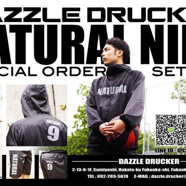DAZZLE DRUCKERxNATURAL NINE Special Order Setup