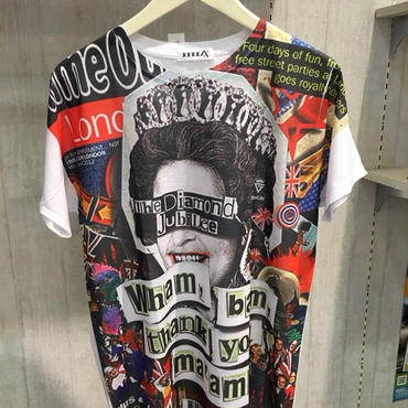 4X エリザ◯ス Tシャツ