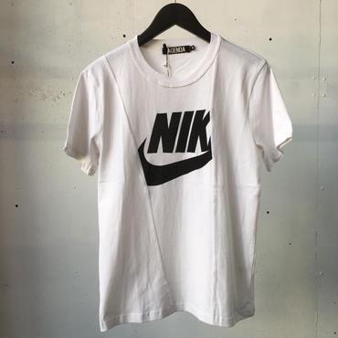 fuzzy NKリメイク Tシャツ  WHITE