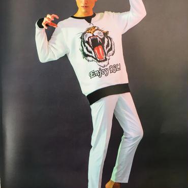 R.S.L  Tiger Print Sweat Sweater