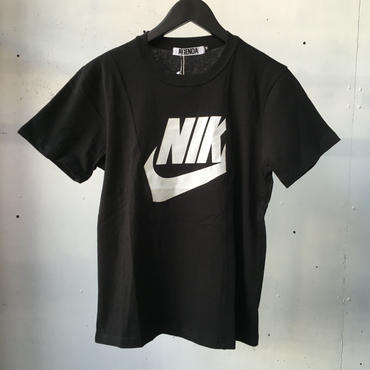 fuzzy NKリメイク Tシャツ BLACK