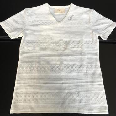 DAZZLE オルテガ柄ジャガードTシャツ