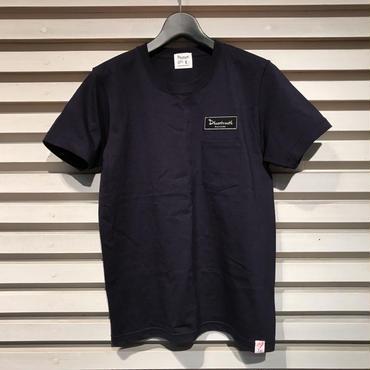 D17006《Pocket Tshirts》C/# NAVY