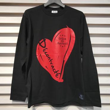 D17002《Big Logo L Tshirt》C/#  BLACK