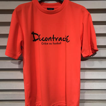 D17013《Basic Dry Shirts》C/# NEON ORANGE