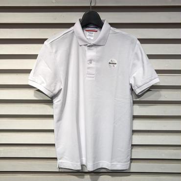 D15-T-003《Wappen Polo Shirt》C/# WHITE