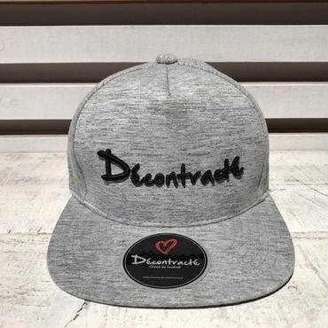 D17008《3D Melange CAP》C/# GRAY