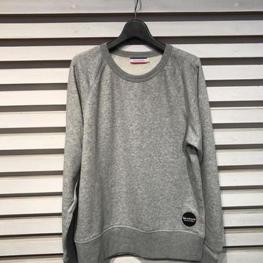 D16SS-002《Wappen Sweatshirt》C/#  GREY