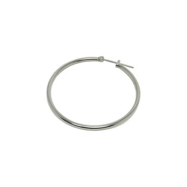 大きめフープリングピアス   ring pierce 40mm