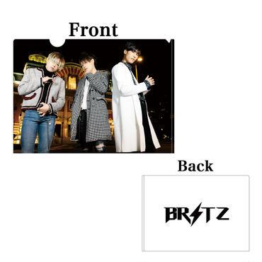 BRITZ オリジナル クリアファイル2枚セット