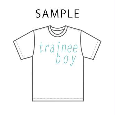 【先着14枚限定】trainee boy Tシャツ ※あなたへの推しメンビデオレターDVD-R付き