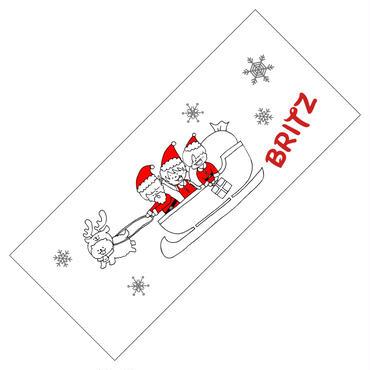 BRITZ クリスマス限定タオル ※通販限定 推しメンお手紙付き
