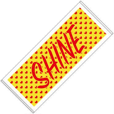 【100枚限定】 SHINE 応援タオル 推しメンお手紙付き※通販特典あり