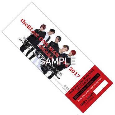11/12 theRLest ワンマンチケット