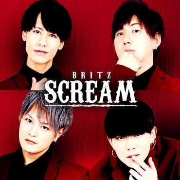 【ブラックバージョン発売決定】BRITZ 1st Album「 SCREAM」全10タイプ