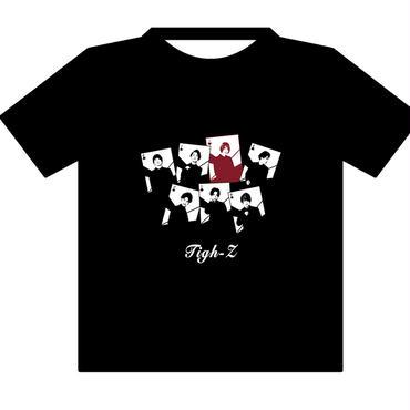 【※XLサイズ 50枚限定】Tigh-Z トランプ T-シャツ 推しメンからの手紙付き