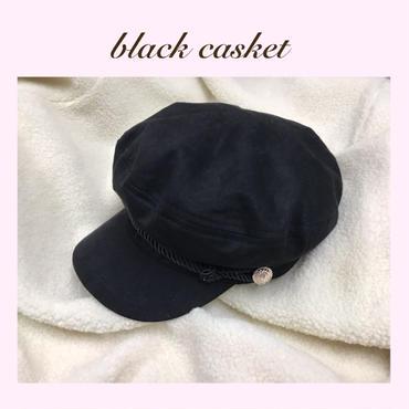 ブラックキャスケット