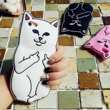 即納【iPhone 6/6S・ iphone7】 アノイングキャット ソフトケース  全3色