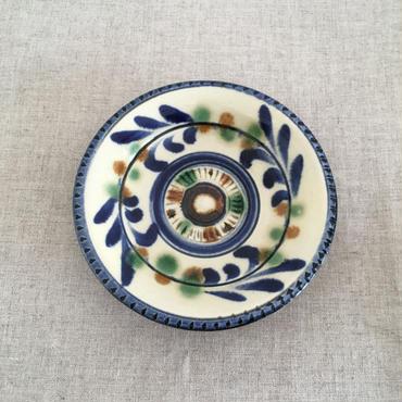 やちむん(沖縄陶器)線唐草5寸皿