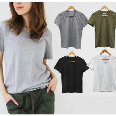 シンプルTシャツ【大きいサイズ】4color
