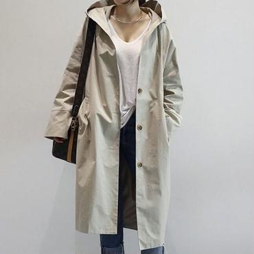ミディ丈コート 2color