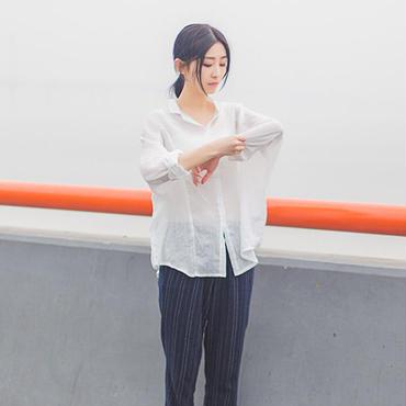風合いコットンシャツ4color