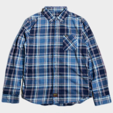 INDIGO CHECK SHIRTS(2色)