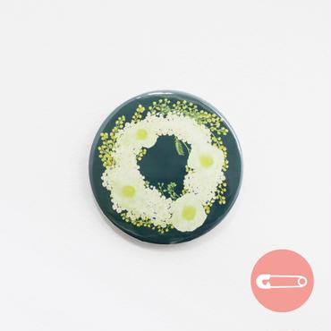 花柄リース_ポピー&ミモザ【31mm】