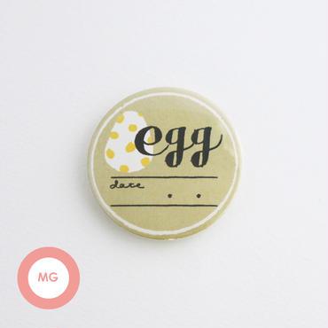 描く缶バッジ_eggB_マグネット【54mm】