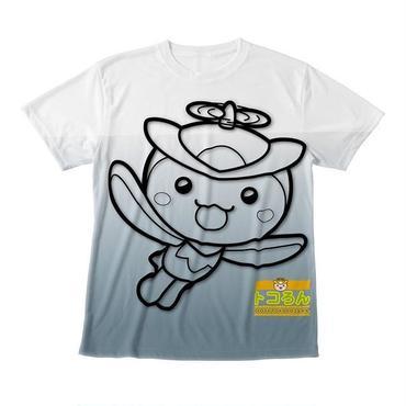 トコろんFGG Tシャツグレー