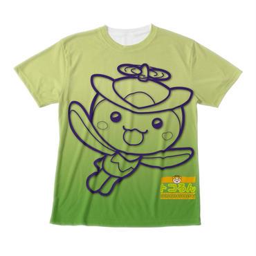 トコろんFGG Tシャツグリーン