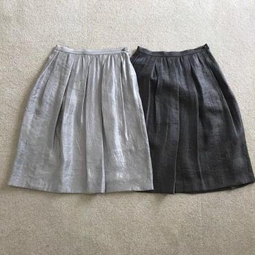 シャイニー箔スカート