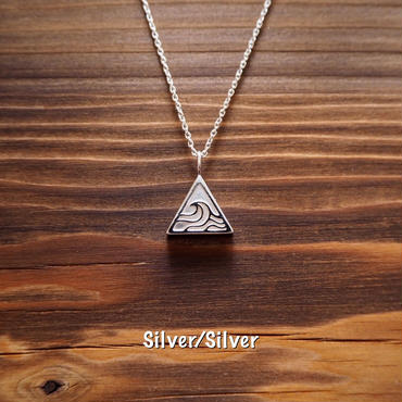 WAVE △ Pendant Necklace  [シルバー925]