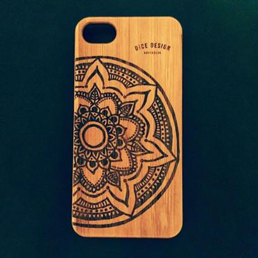 """Bamboo iPhone case C """"Big Mandala"""" (SE/6/6s/7/8/X/7Plus/8Plus)"""