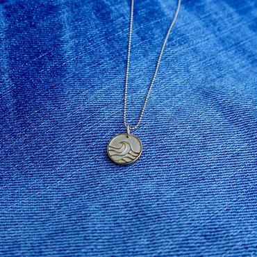 Nature coin MiNi Pendant top [K18 Yellow Gold]