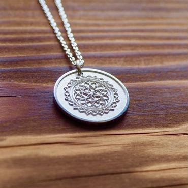 Nature COiN Pendant Necklace  [シルバー925]