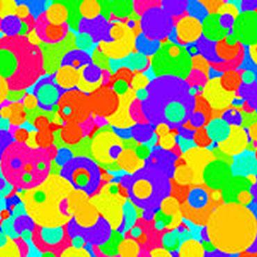 ポップアート オールオーバーーポロック HD(1920×1080px・jpegデータ)