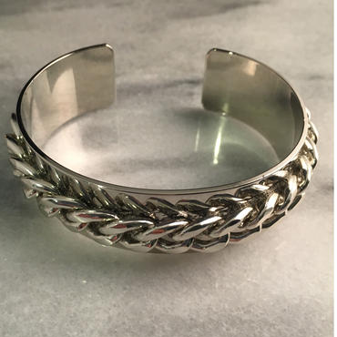 Chain bangle  (太タイプ)