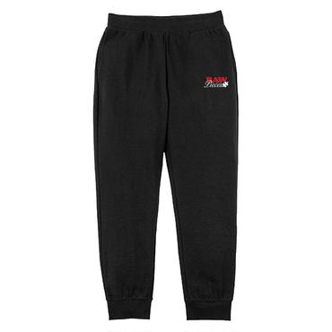 """RAW PIECES"" SWEAT PANTS -BLAQ-"