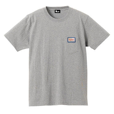 "NAGMATIC ""REAL FIND vol.3"" ORIGINAL TAG POCKET TEE -GRAY-"