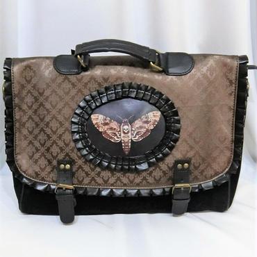 RE-1503 MOTH BROWN Briefcase<BRN>