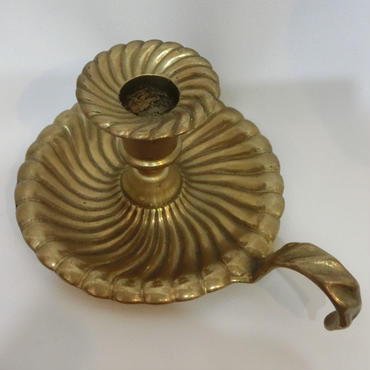 STLO.130 真鍮アンティーク燭台<1灯>