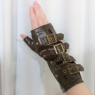 RE-3601 Steampunk armwarmers<BRN>
