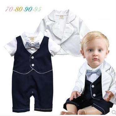 子供用 長袖フォーマル服 タキシード baby-220