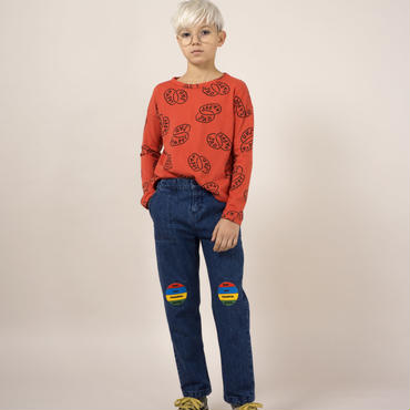 BOBO CHOSES mood patch slim jeans パンツ 定価$239
