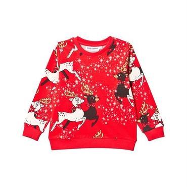 mini rodini ミニロディーニ reindeer long sleeve T-shirts ロンT 定価$128